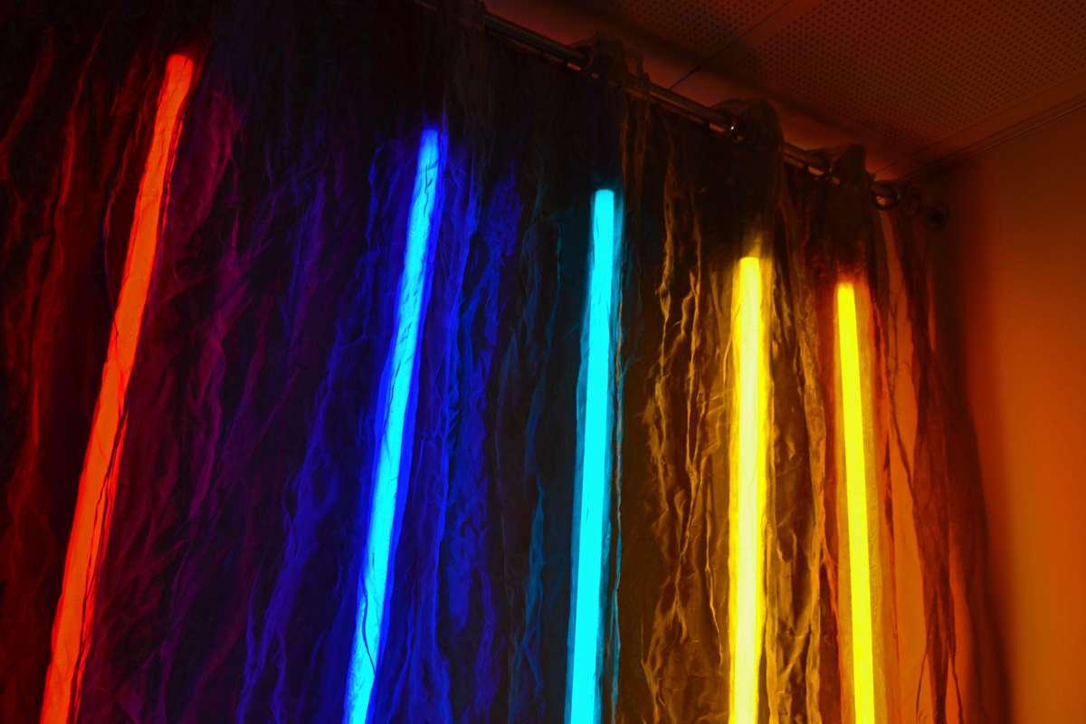 Louise Cohen Steel Lights